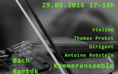 Konzert am 29. Mai 2016