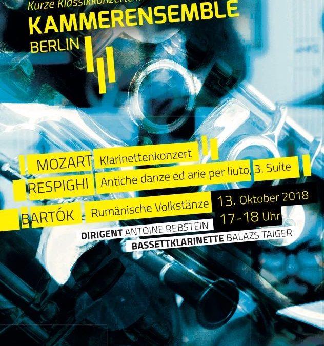 Konzert am 13. Oktober 2018