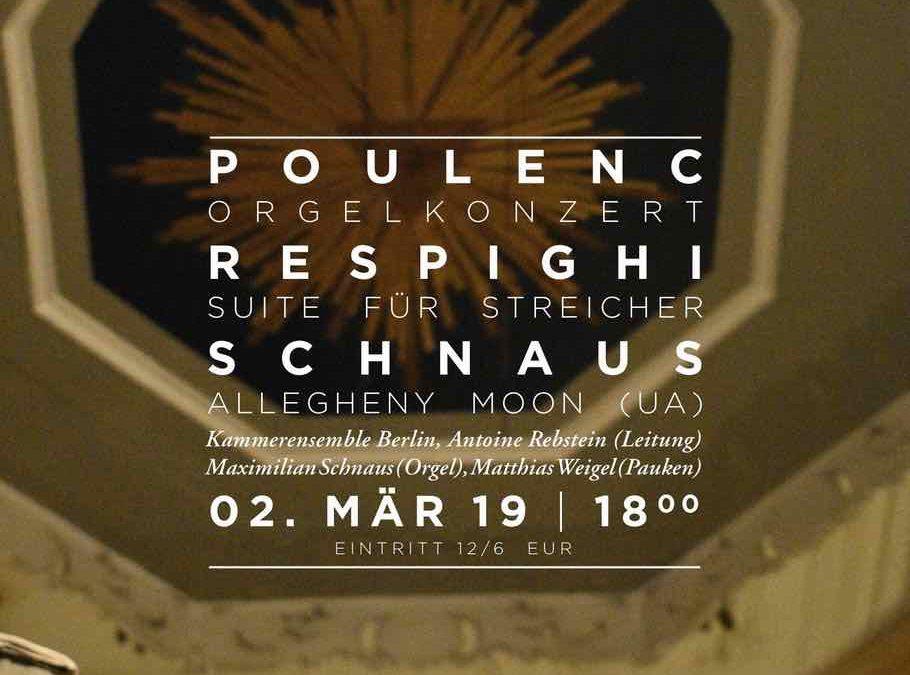 Konzert am 2. März 2019